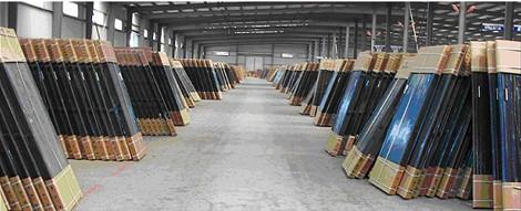металлические двери большой торговый склад