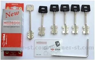 Комплект ключей cisa с перекодировкой купить